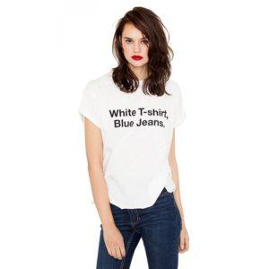 T-Shirt white H4